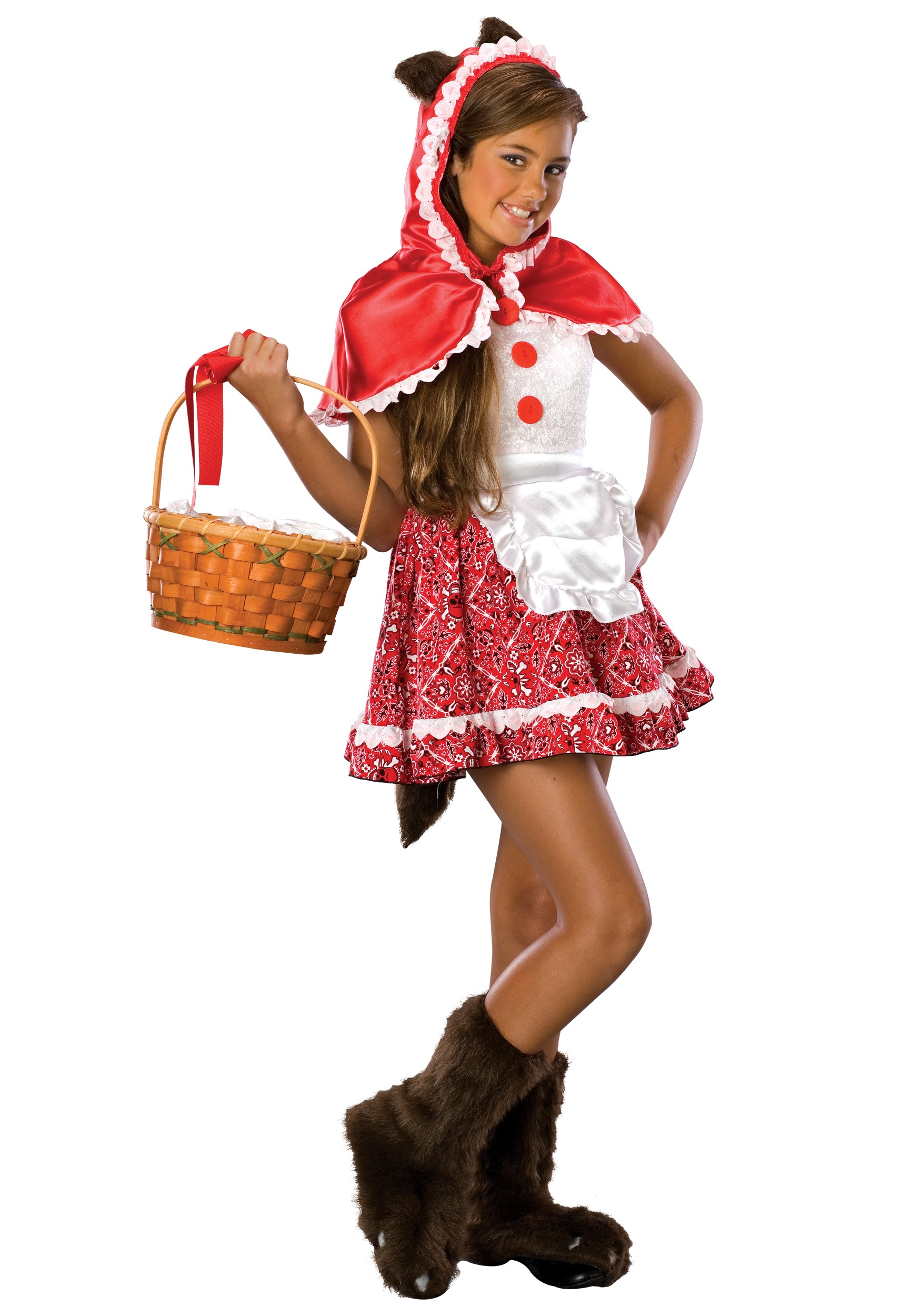 Tween Red Riding Hood Costume  sc 1 st  Halloween Costumes & Tween Red Riding Hood Costume - Halloween Costumes