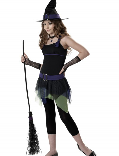 Tween Sassy Witch Costume, halloween costume (Tween Sassy Witch Costume)