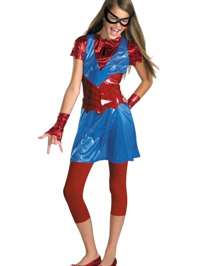 Tween Spider Girl Costume, halloween costume (Tween Spider Girl Costume)