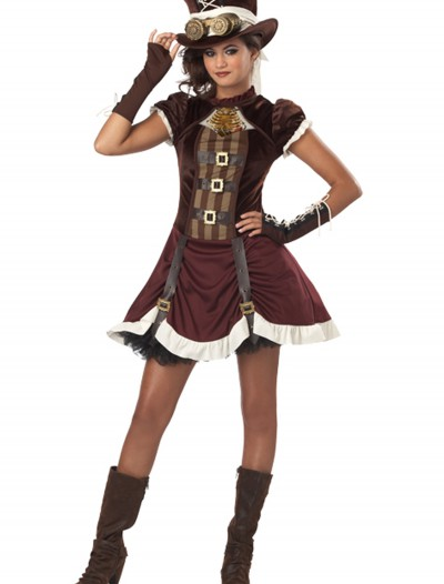 Tween Steampunk Girl Costume, halloween costume (Tween Steampunk Girl Costume)