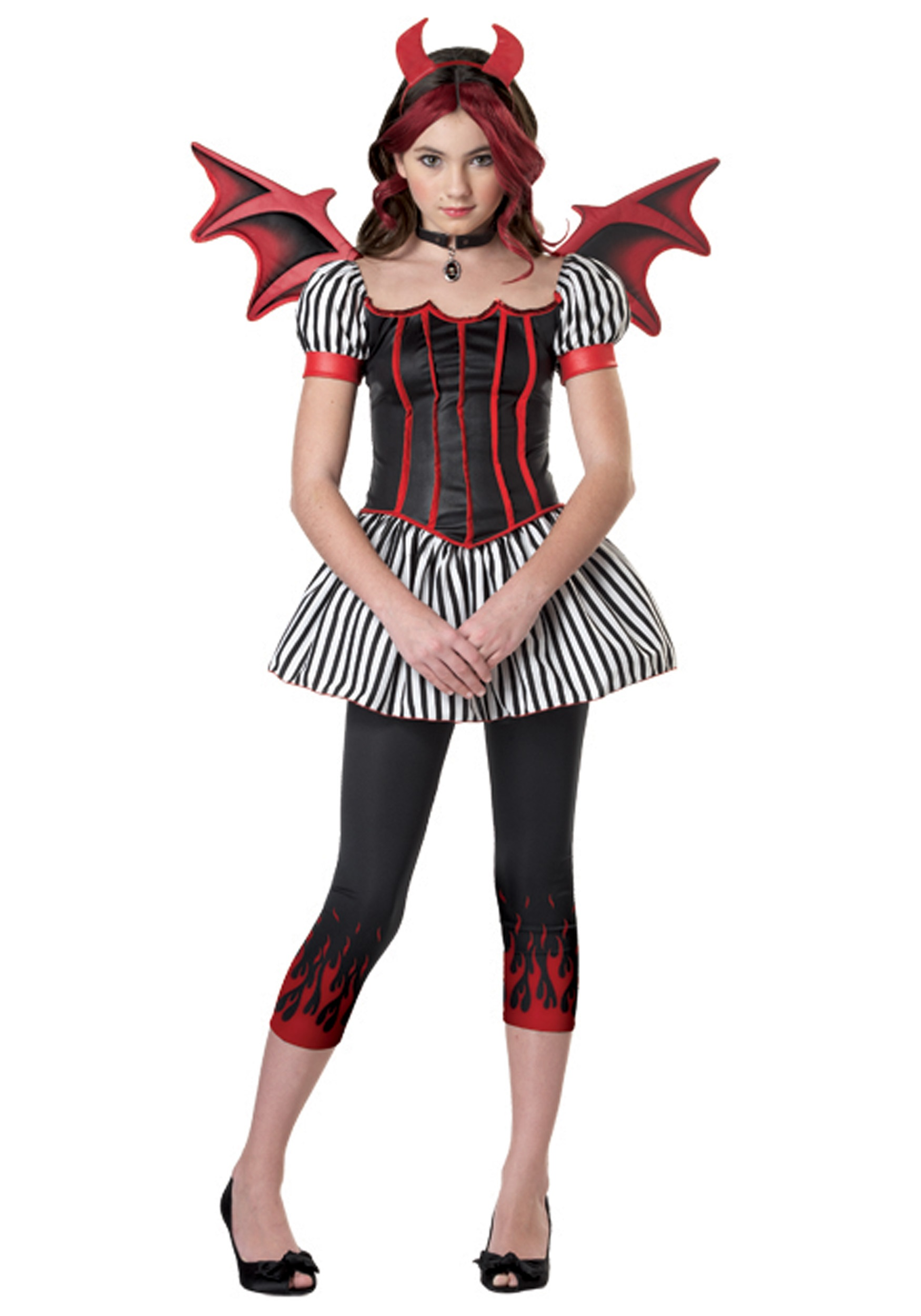 Tween Strangelings Devil Costume  sc 1 st  Halloween Costumes & Tween Strangelings Devil Costume - Halloween Costumes