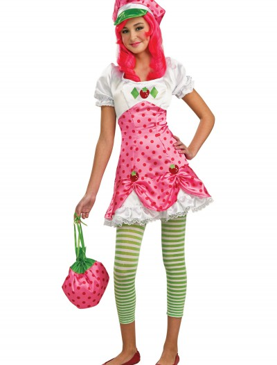 Tween Strawberry Shortcake Costume, halloween costume (Tween Strawberry Shortcake Costume)