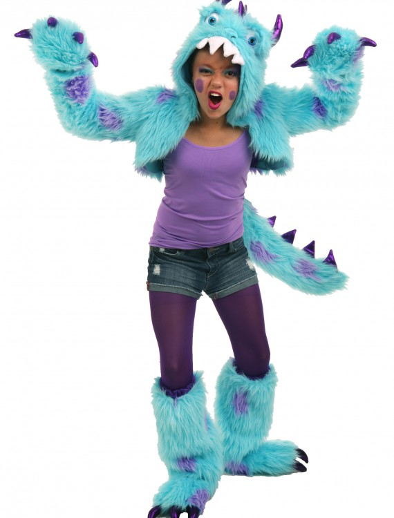 Tween Sullivan the Monster Shrug Set, halloween costume (Tween Sullivan the Monster Shrug Set)
