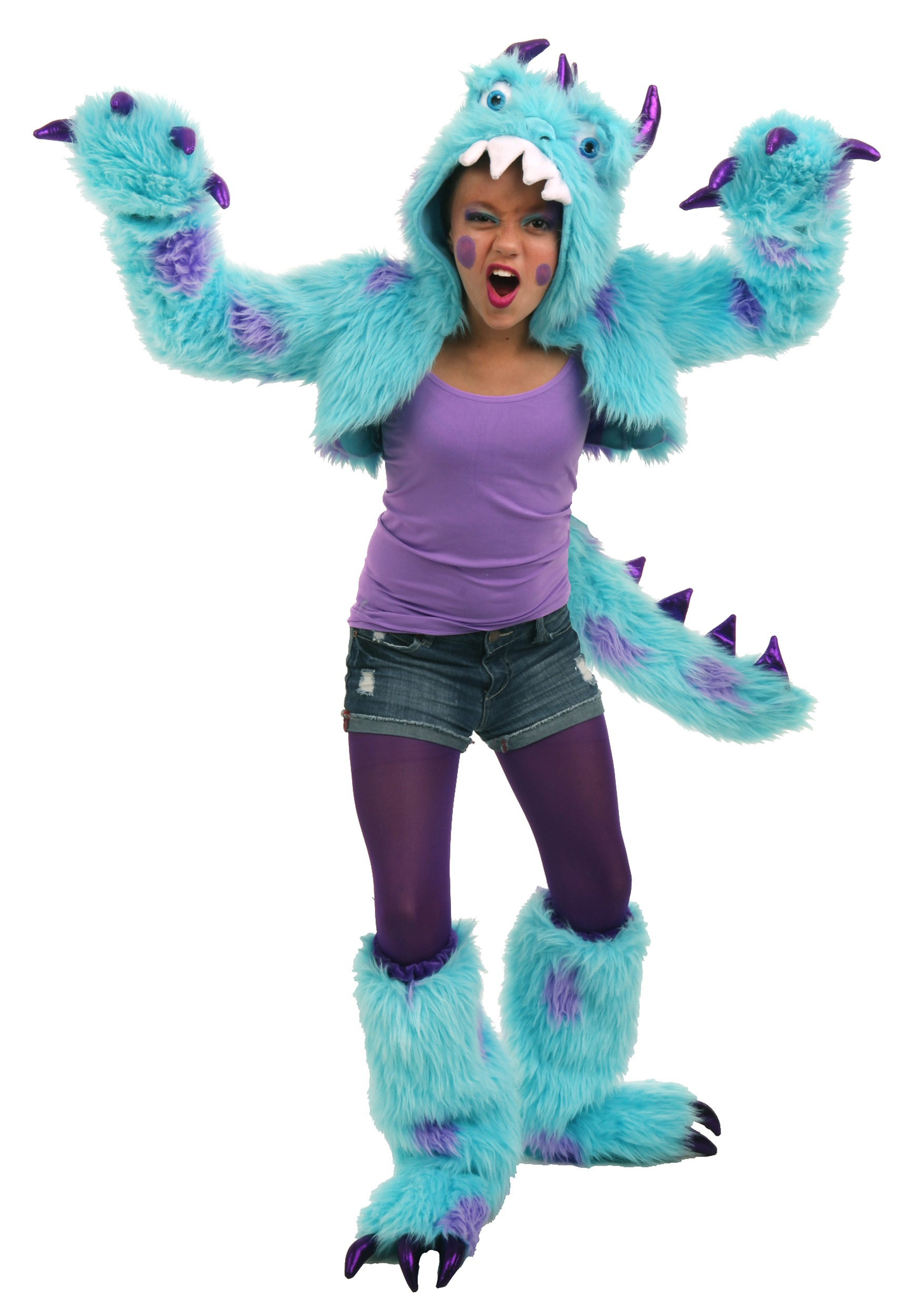 tween sullivan the monster shrug set - halloween costumes