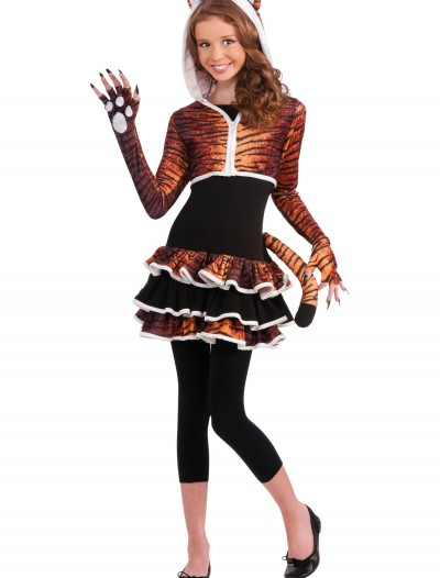 Tween Tigress Costume, halloween costume (Tween Tigress Costume)