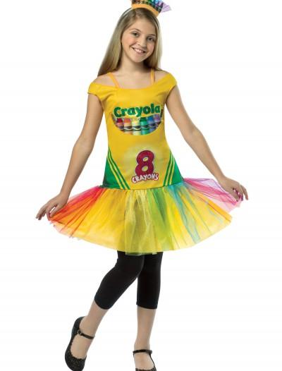 Tween Tutu Crayon Dress, halloween costume (Tween Tutu Crayon Dress)