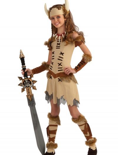 Tween Viking Princess Costume, halloween costume (Tween Viking Princess Costume)