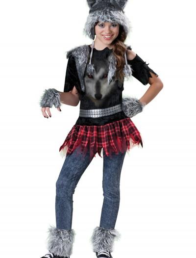 Tween Werewolf Costume, halloween costume (Tween Werewolf Costume)