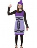 Tween Wisteria Crayon Dress, halloween costume (Tween Wisteria Crayon Dress)