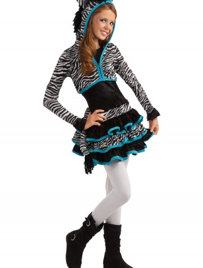 Tween Zebra Costume, halloween costume (Tween Zebra Costume)