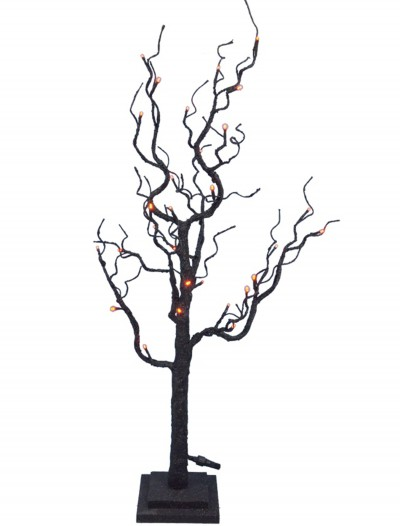 "35"" Twig Tree w/Orange Lights, halloween costume (35"" Twig Tree w/Orange Lights)"