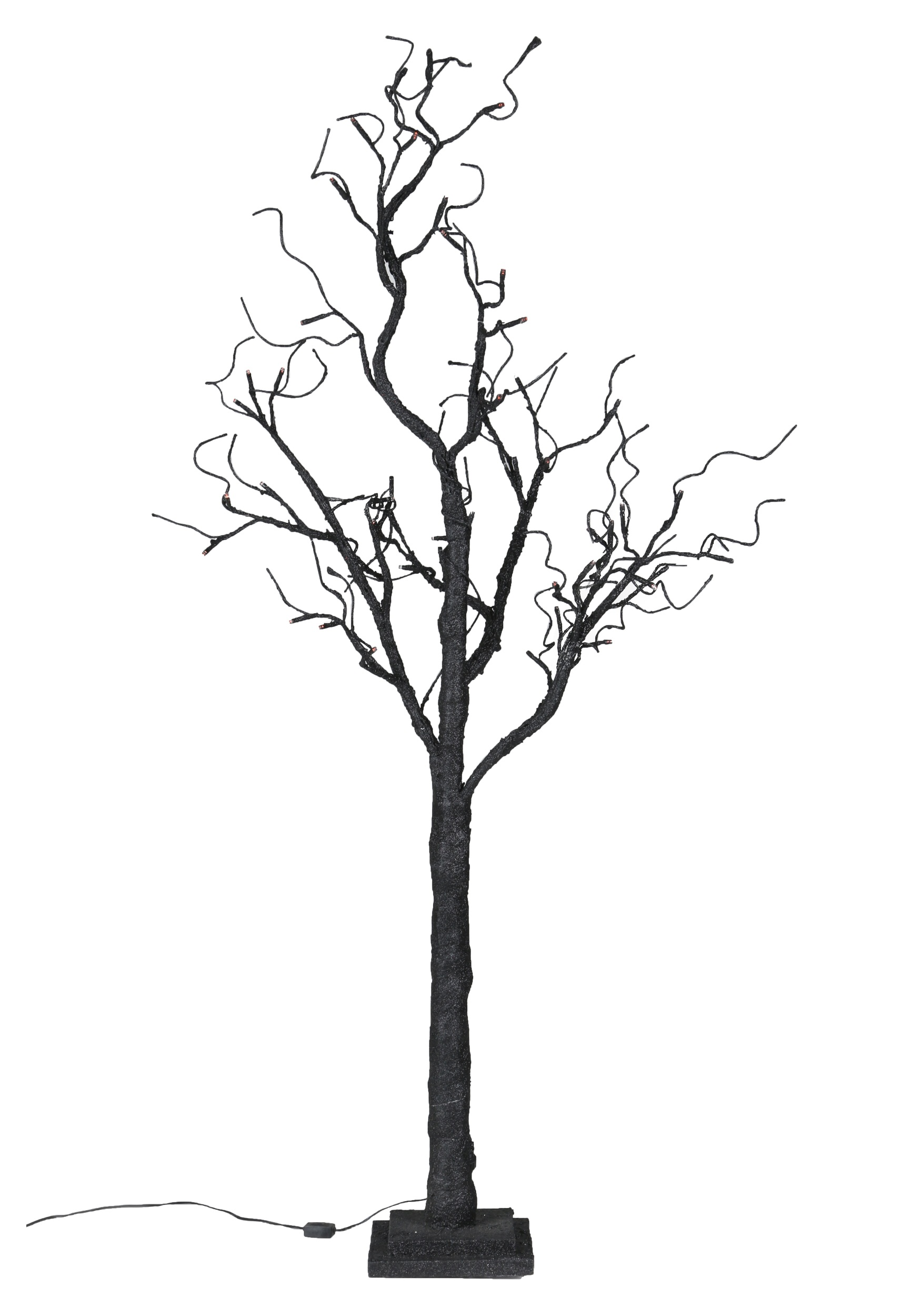 51 Twig Tree With Orange Lights