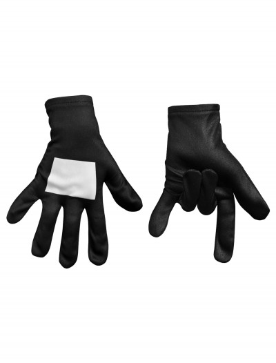 Ultimate Black Suited Spider-Man Child Gloves, halloween costume (Ultimate Black Suited Spider-Man Child Gloves)