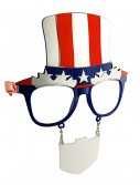 Uncle Sam Sunglasses, halloween costume (Uncle Sam Sunglasses)