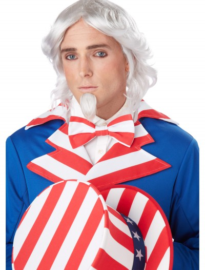 Uncle Sam Wig and Chin Patch, halloween costume (Uncle Sam Wig and Chin Patch)