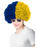 University of Michigan Wig, halloween costume (University of Michigan Wig)