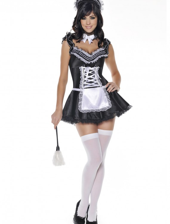 Upstairs French Maid Costume, halloween costume (Upstairs French Maid Costume)