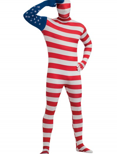 USA Flag Skin Suit, halloween costume (USA Flag Skin Suit)