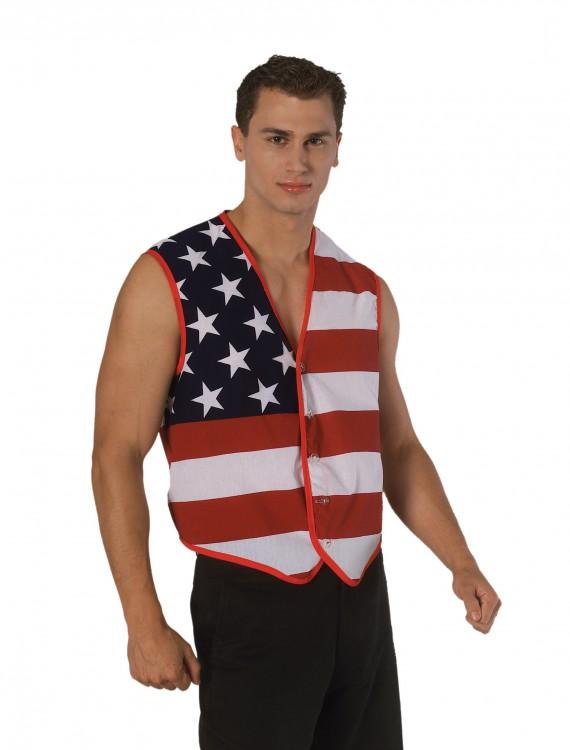 America Vest, halloween costume (America Vest)