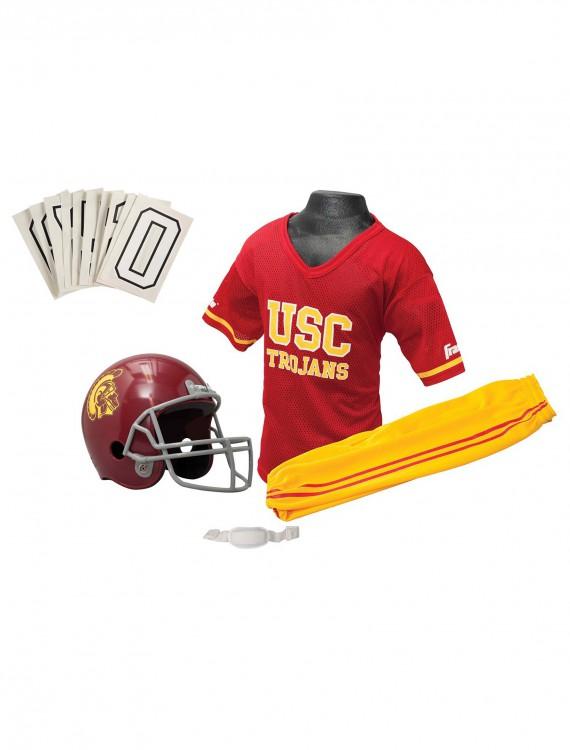 USC Trojans Child Football Uniform, halloween costume (USC Trojans Child Football Uniform)