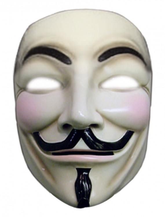 V for Vendetta Deluxe Mask, halloween costume (V for Vendetta Deluxe Mask)