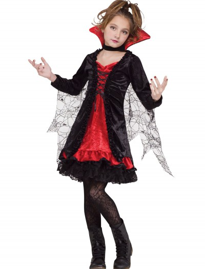 Vampire Girl Child Costume, halloween costume (Vampire Girl Child Costume)