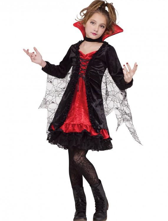 Vampire Girl Child Costume, halloween costume (Vampire Girl Child Costume)