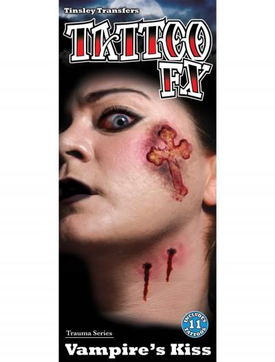 Vampire's Kiss Tempory Tattoo Kit, halloween costume (Vampire's Kiss Tempory Tattoo Kit)