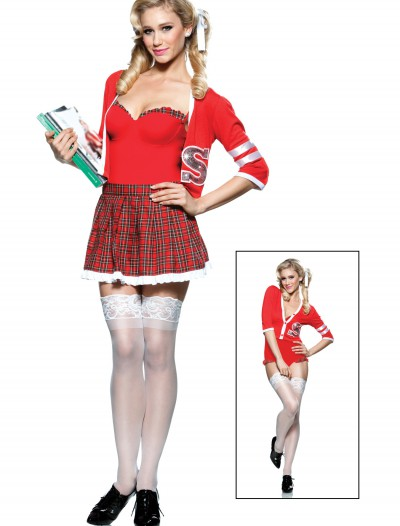 Varsity School Girl Costume, halloween costume (Varsity School Girl Costume)