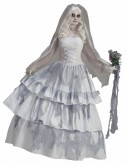 Victorian Ghost Bride Costume, halloween costume (Victorian Ghost Bride Costume)