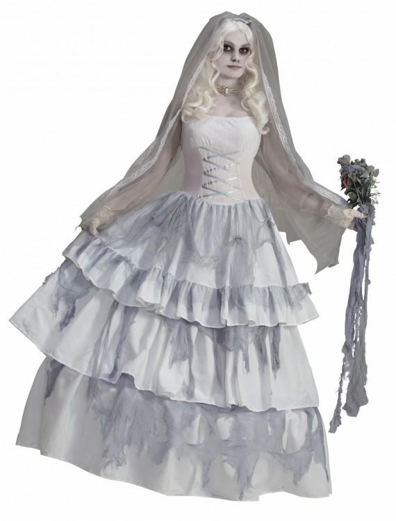 Victorian Ghost Bride Costume, halloween costume (Victorian Ghost Bride Costume)