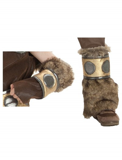 Viking Arm and Leg Warmers Set, halloween costume (Viking Arm and Leg Warmers Set)