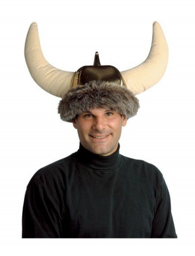 Viking Plush Hat, halloween costume (Viking Plush Hat)