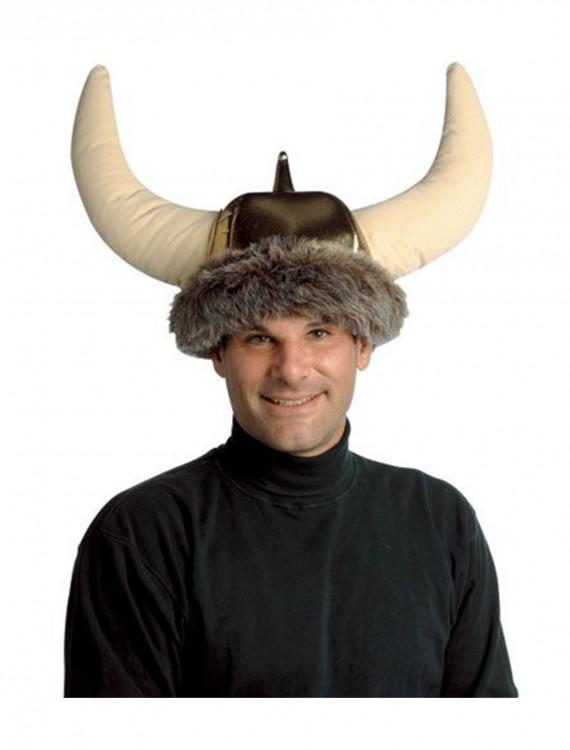 Viking Plush Hat, halloween costume (Viking Plush Hat)
