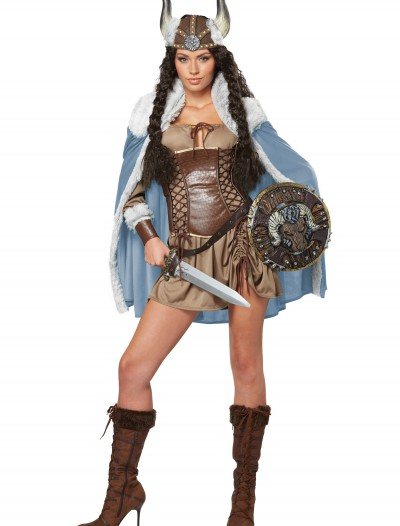 Women's Viking Vixen Costume, halloween costume (Women's Viking Vixen Costume)