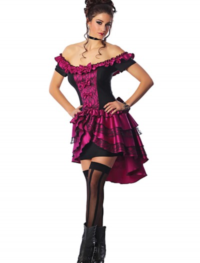 Violet Dance Hall Queen Costume, halloween costume (Violet Dance Hall Queen Costume)