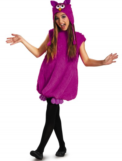 Voodoo Purple Furby Deluxe Costume, halloween costume (Voodoo Purple Furby Deluxe Costume)