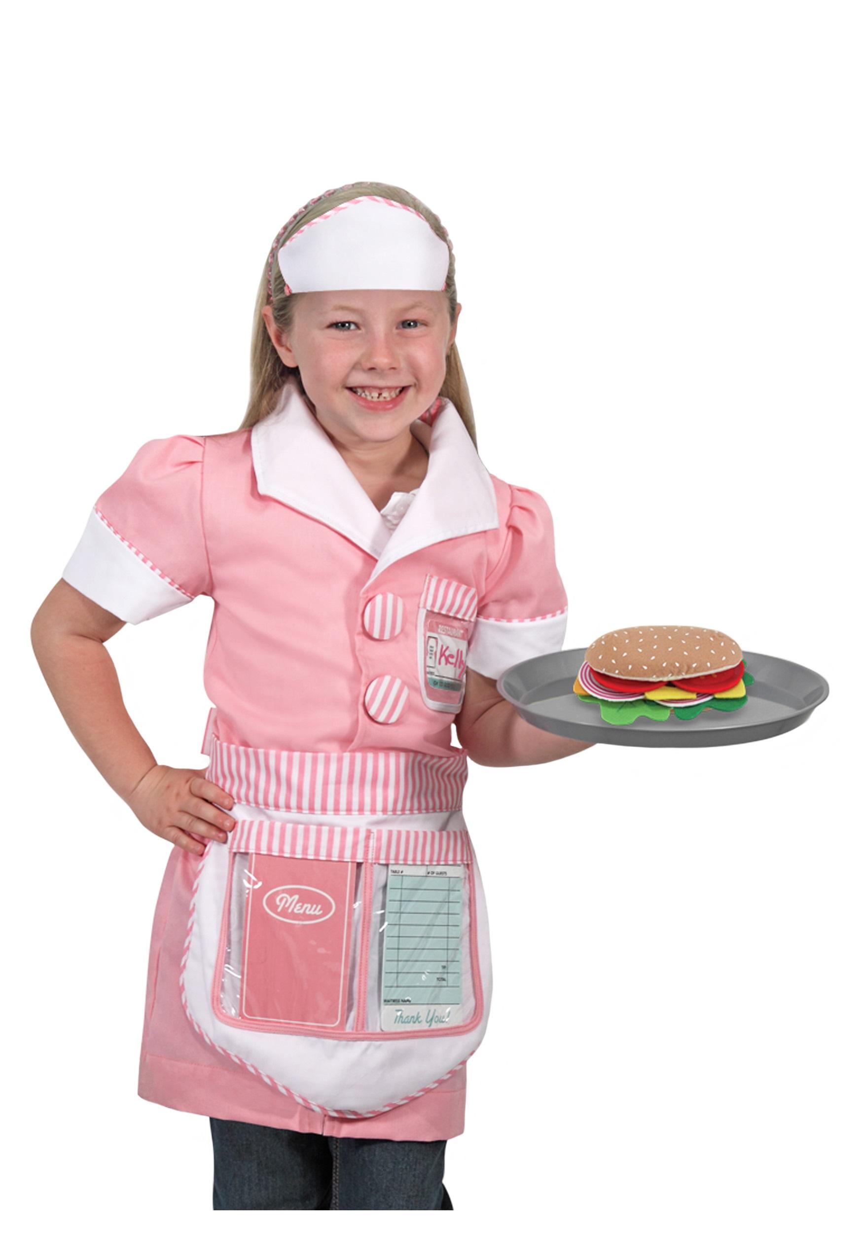 Waitress Role Play Set  sc 1 st  Halloween Costumes & Waitress Role Play Set - Halloween Costumes