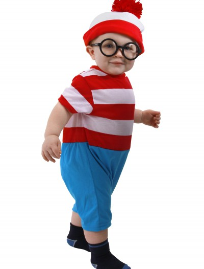Waldo Infant Onesie, halloween costume (Waldo Infant Onesie)