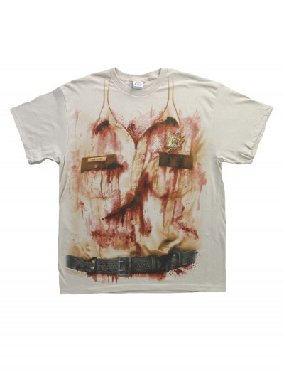 Walking Dead Rick Costume T-Shirt, halloween costume (Walking Dead Rick Costume T-Shirt)