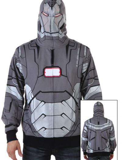 War Machine I Am Marvel Iron Man 3 Costume Hoodie, halloween costume (War Machine I Am Marvel Iron Man 3 Costume Hoodie)