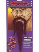 Warrior Moustache and Beard, halloween costume (Warrior Moustache and Beard)