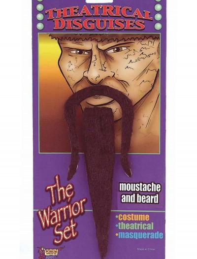 Warrior Moustache and Beard, halloween costume (Warrior Moustache and Beard)
