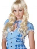 Wavy Blonde Wig, halloween costume (Wavy Blonde Wig)