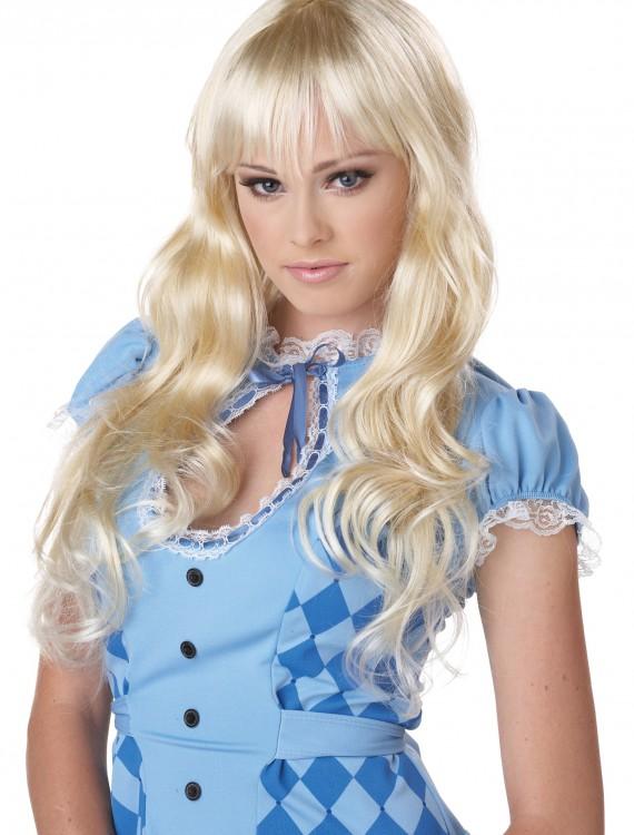 Wavy Blonde Wig, halloween costume (Wavy Blonde Wig)