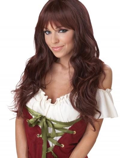 Wavy Brunette Wig, halloween costume (Wavy Brunette Wig)