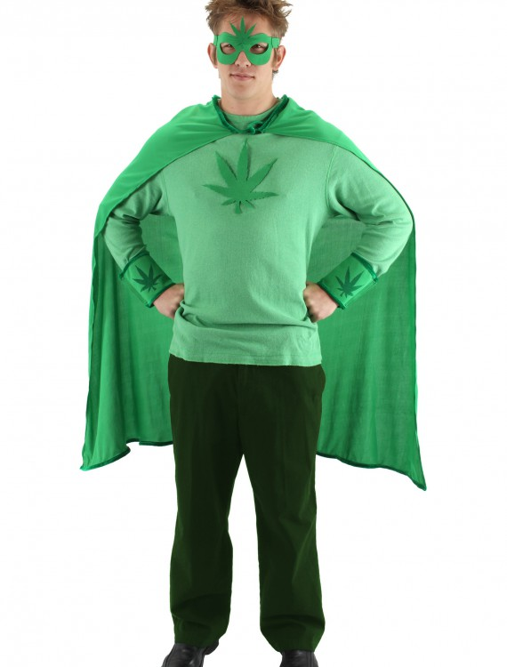 Weed Man Costume Kit, halloween costume (Weed Man Costume Kit)