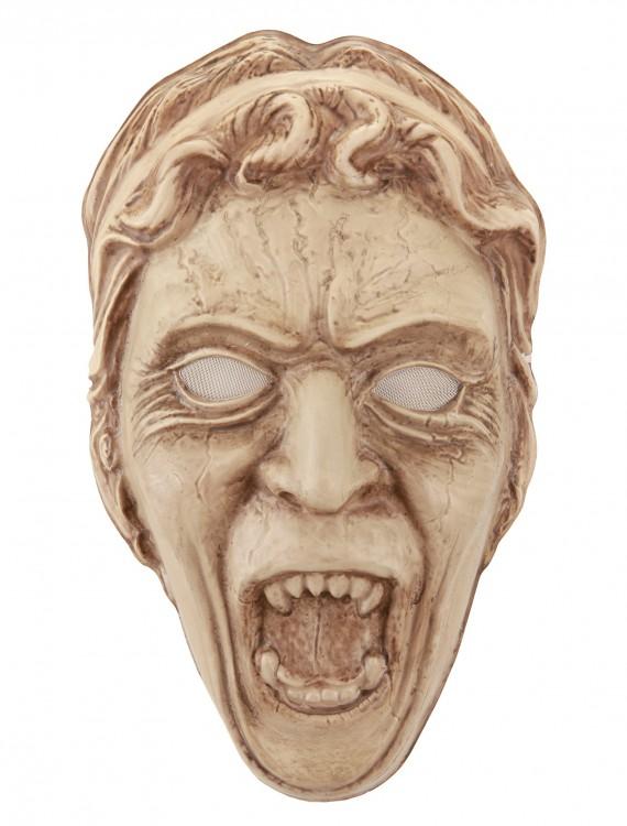 Weeping Angel Vacuform Mask, halloween costume (Weeping Angel Vacuform Mask)