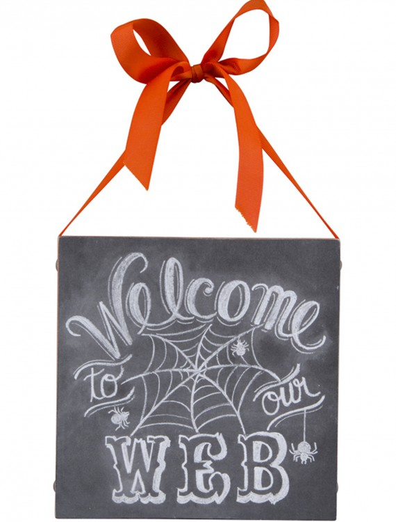 Welcome to Our Web Sign, halloween costume (Welcome to Our Web Sign)