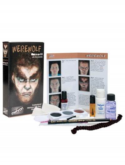 Werewolf Makeup Kit, halloween costume (Werewolf Makeup Kit)